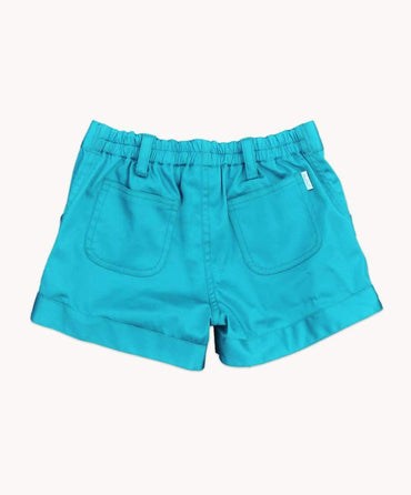 Handy Turquoise Shorts