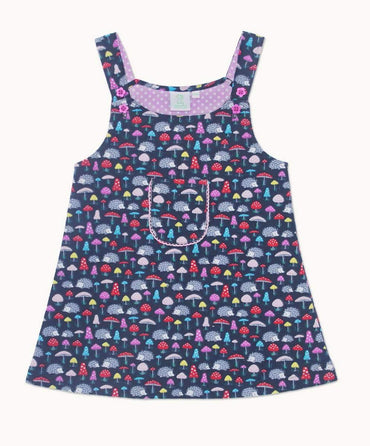 Hellie Hedgehog Pinafore Dress