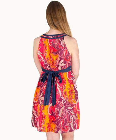 Jewelled Paisley Summer Dress