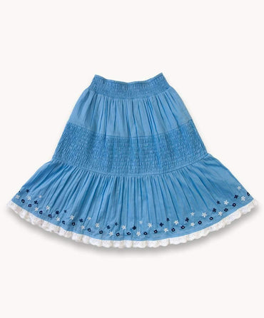 Meadow Shirred Skirt