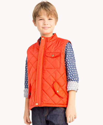Orange All-Weather Vest