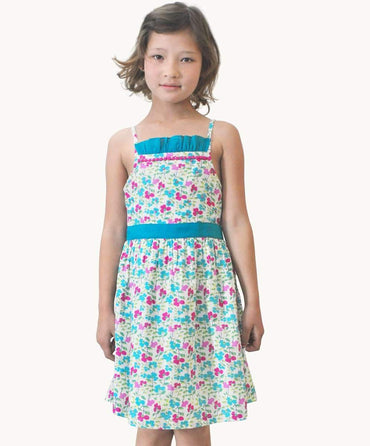 Pansy Pop Sundress