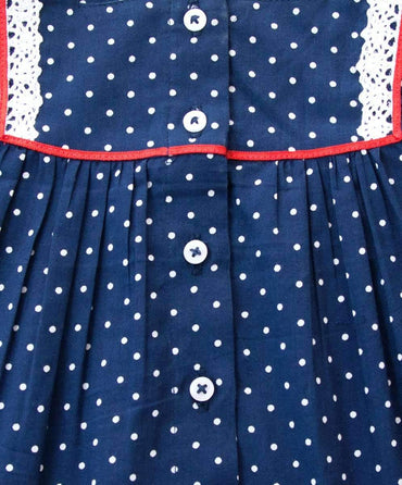 Pretty Betty Blue Cotton Top