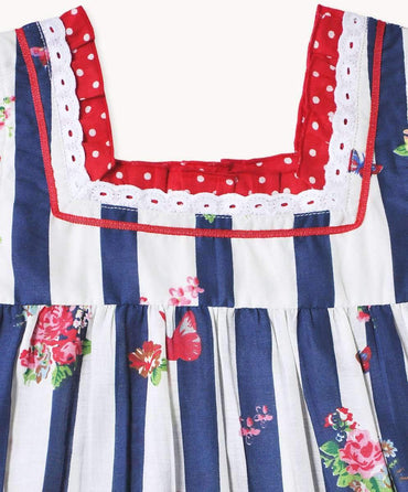 Pretty Picnic Ruffle Top
