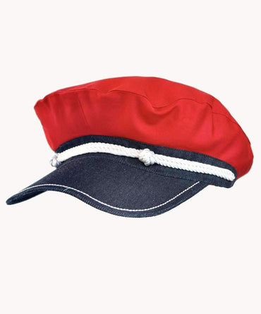 Red Captain's Hat