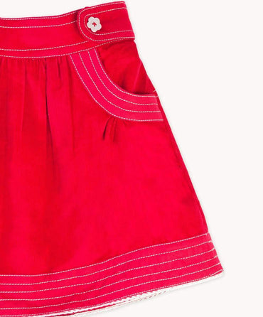 Red Cord Skirt
