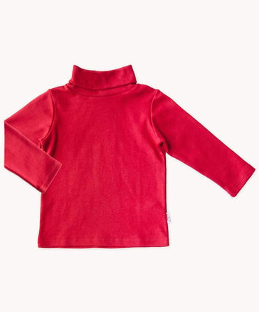 Red Cotton Skivvy