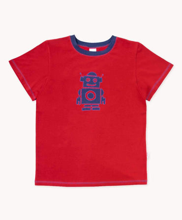 Red Robot Toddler T-Shirt