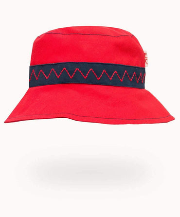 Red/Navy Summer Hat