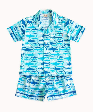 Sharks Cotton Pyjamas