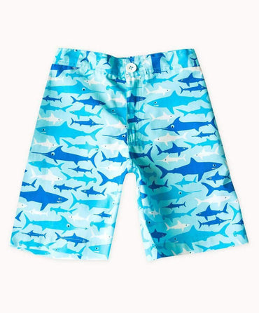 Sharks Cotton Shorts