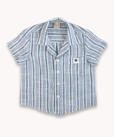 Soft Stripe Cotton Shirt