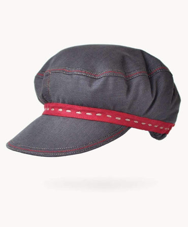 Storm Check Cotton Hat