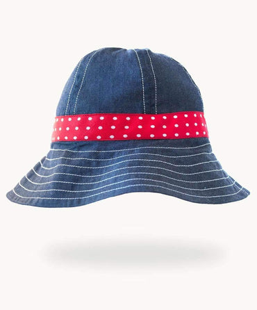 Stylish Denim Sun Hat