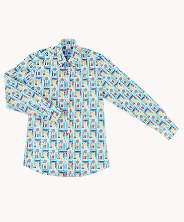 Surfers Life Men's Casual Shirt