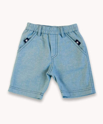 Teal Wash Shorts