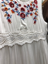 Load image into Gallery viewer, Wendy's White Summer Dress