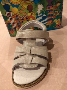 Girls Champagne Sandal