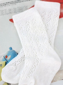 Vintage Lace Knee High Socks