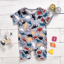 Load image into Gallery viewer, Dino Lovin Romper