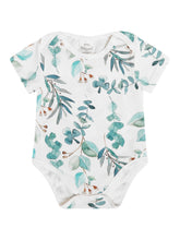 Load image into Gallery viewer, Botanical Baby Short Sleeve Bodysuits