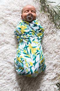 Botanical Baby Swaddle