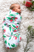 Load image into Gallery viewer, Botanical Baby Swaddle