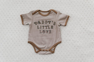 Daddys Little Love Romper/Tee