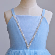 Load image into Gallery viewer, Elsa Frozen Summer Dress
