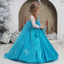 Load image into Gallery viewer, Princess Elsa's Winter Costume