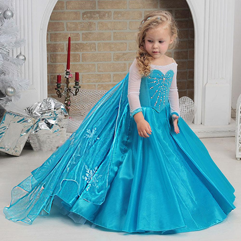 Princess Elsa's Winter Costume