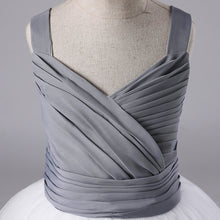 Load image into Gallery viewer, Georgia's Grey and White Dress
