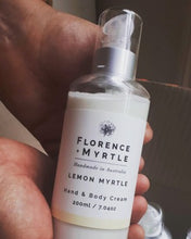 Load image into Gallery viewer, Lemon Myrtle Hand & Body Cream