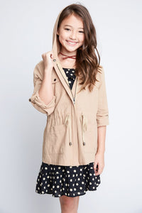 Girls Cargo Jacket