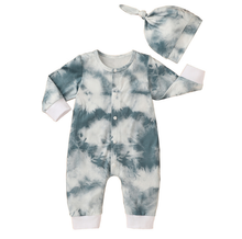 Load image into Gallery viewer, Retro Tie Dye Romper