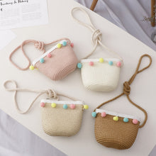 Load image into Gallery viewer, Raffia Summer Handbag