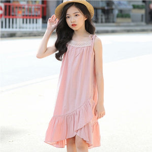 Blush Pink Summer Dress