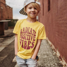 Load image into Gallery viewer, Radiate Positive Vibes Tee