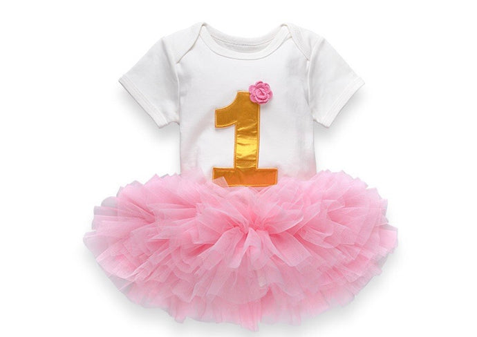 1st Birthday Girls Outfit