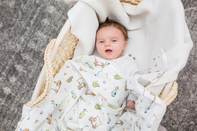 Golf Cotton Swaddle