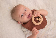 Load image into Gallery viewer, Beechwood Wooden Rattle & Teether