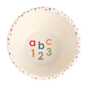 Bamboo Dinner Set - ABC
