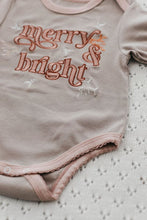 Load image into Gallery viewer, Merry and Bright Romper/Tee