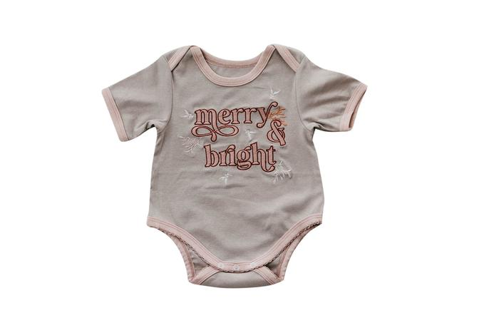 Merry and Bright Romper/Tee