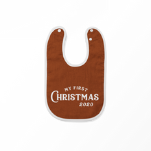Load image into Gallery viewer, My First Christmas Romper/Bib