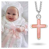 Load image into Gallery viewer, Pink Cross Jewellery