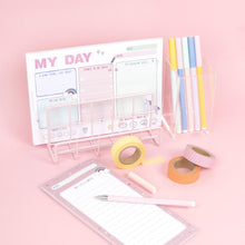Load image into Gallery viewer, My Day Planner Notepad - Pink or Blue design