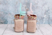 Load image into Gallery viewer, Twirly Straw Reusable Curly Straw 2 Pack