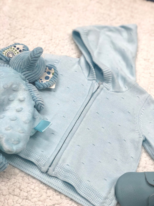 Henry Baby Blue Zip-up Jacket