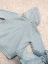 Load image into Gallery viewer, Henry Baby Blue Zip-up Jacket